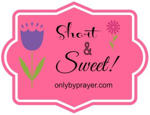 Short & Sweet: Take up His Cross by Mary Kane
