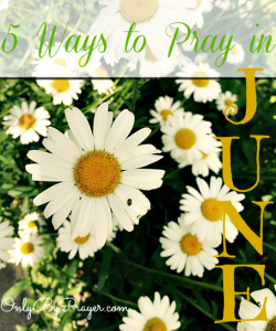 5 Ways to Pray in June
