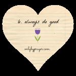 Do Good Day 6