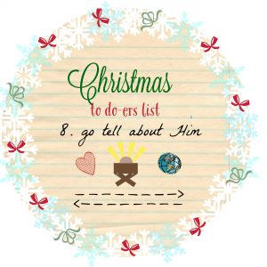 Tell about Jesus this Christmas