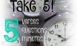 Take 5!: 5 Minutes to a Better Life
