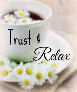 trust and relax