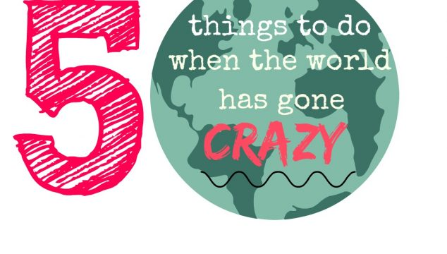 5 Things to Do When the World has Gone Crazy