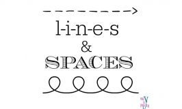 lines and spaces