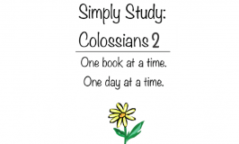 Simply Study: Colossians 2