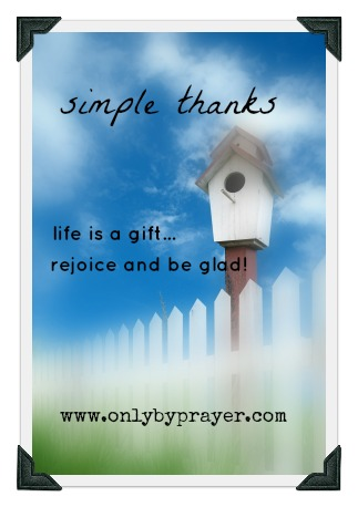 Simple Thanks Online Bible Study