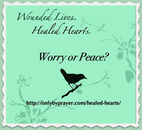 Protected: Wounded Lives. Healed Hearts. Week 5: Worry or Peace?
