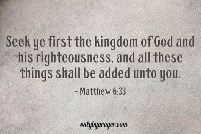 Lent Week 3 Seeking God