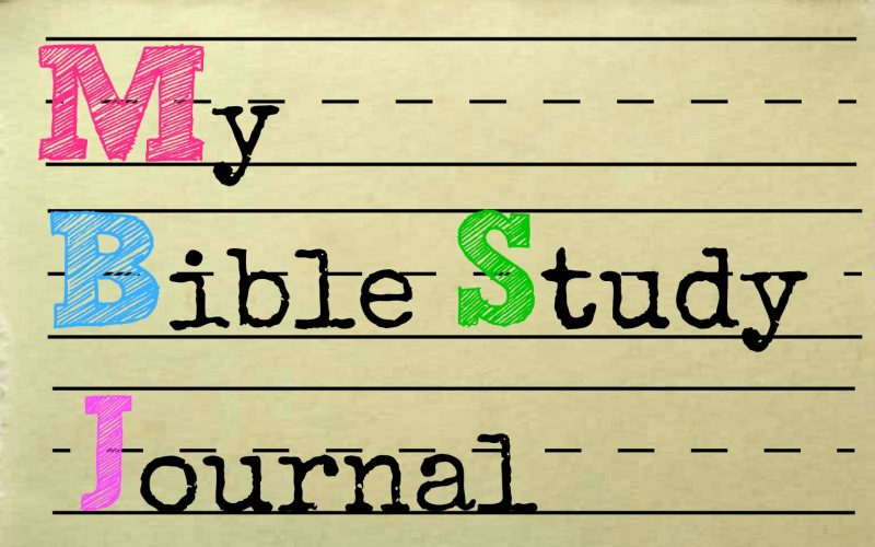 Bible Study Journal-Graphics  by Mary Kane