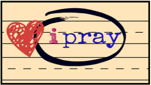 Bible Journal-Graphics: i pray  by Mary Kane