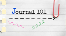 Bible Journal-Graphics: Journal 101 by Mary Kane
