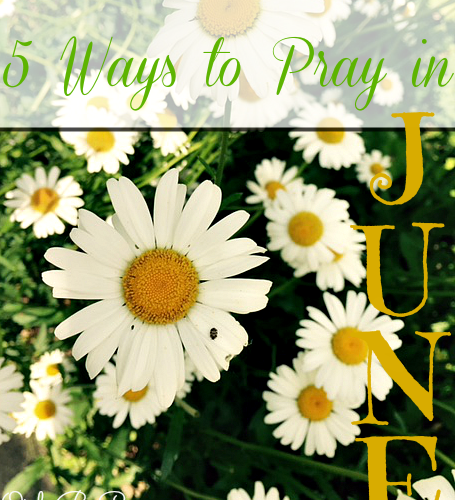 http://onlybyprayer.com/5-ways-to-pray-in-june/