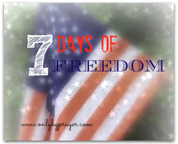 Seven Days of Freedom, Day 3: Free