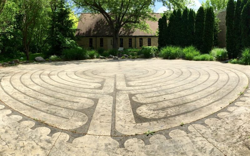 Try a Labyrinth Prayer Walk