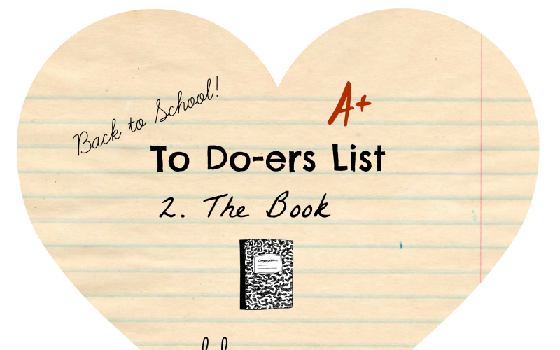 To Do-ers List, Back to School: The Book