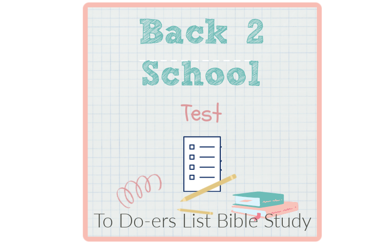 Back to School: Test