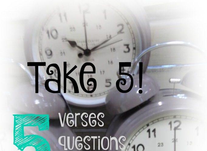 Take 5!: How to Know God
