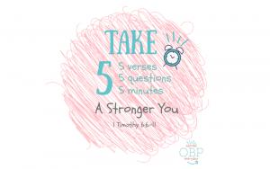 Take 5: A stronger you
