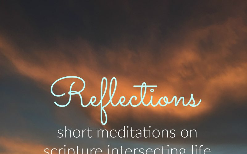 Reflections #19: Could You Not Tarry?
