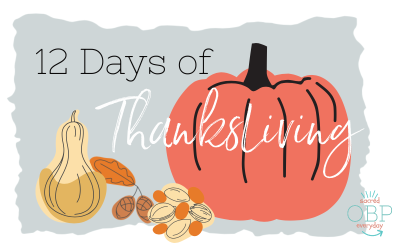 12 Days of Thanksliving