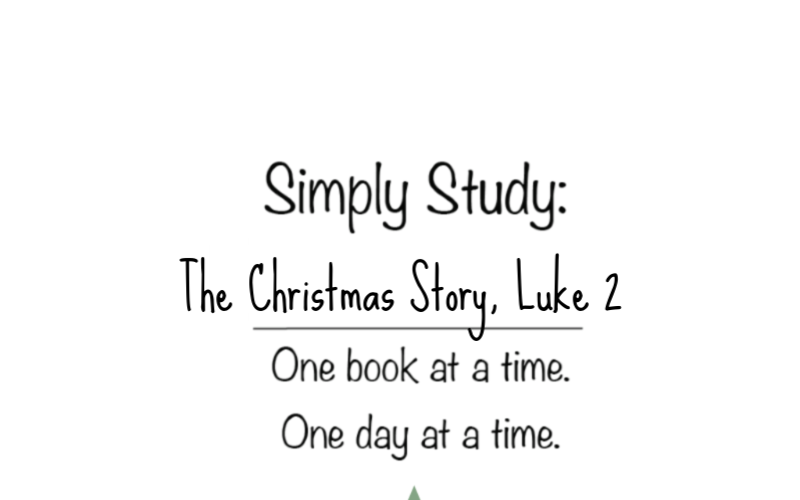 Simply Study: Luke the Christmas Story, Chapter 2