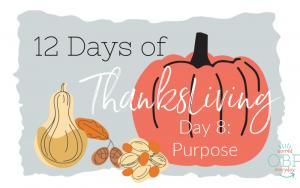 ThanksLiving: Purpose