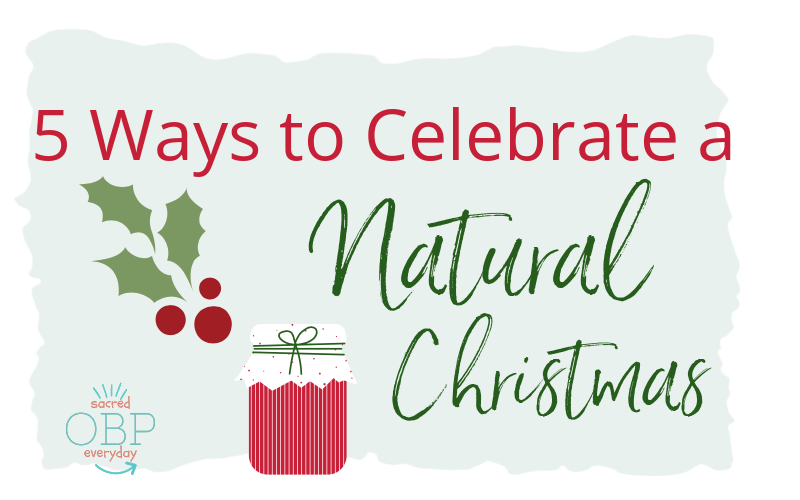 Discover 5 New Ways to Celebrate a Natural Christmas